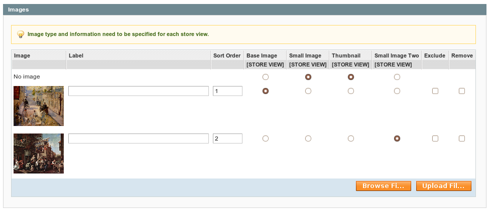 New image type for product in Magento